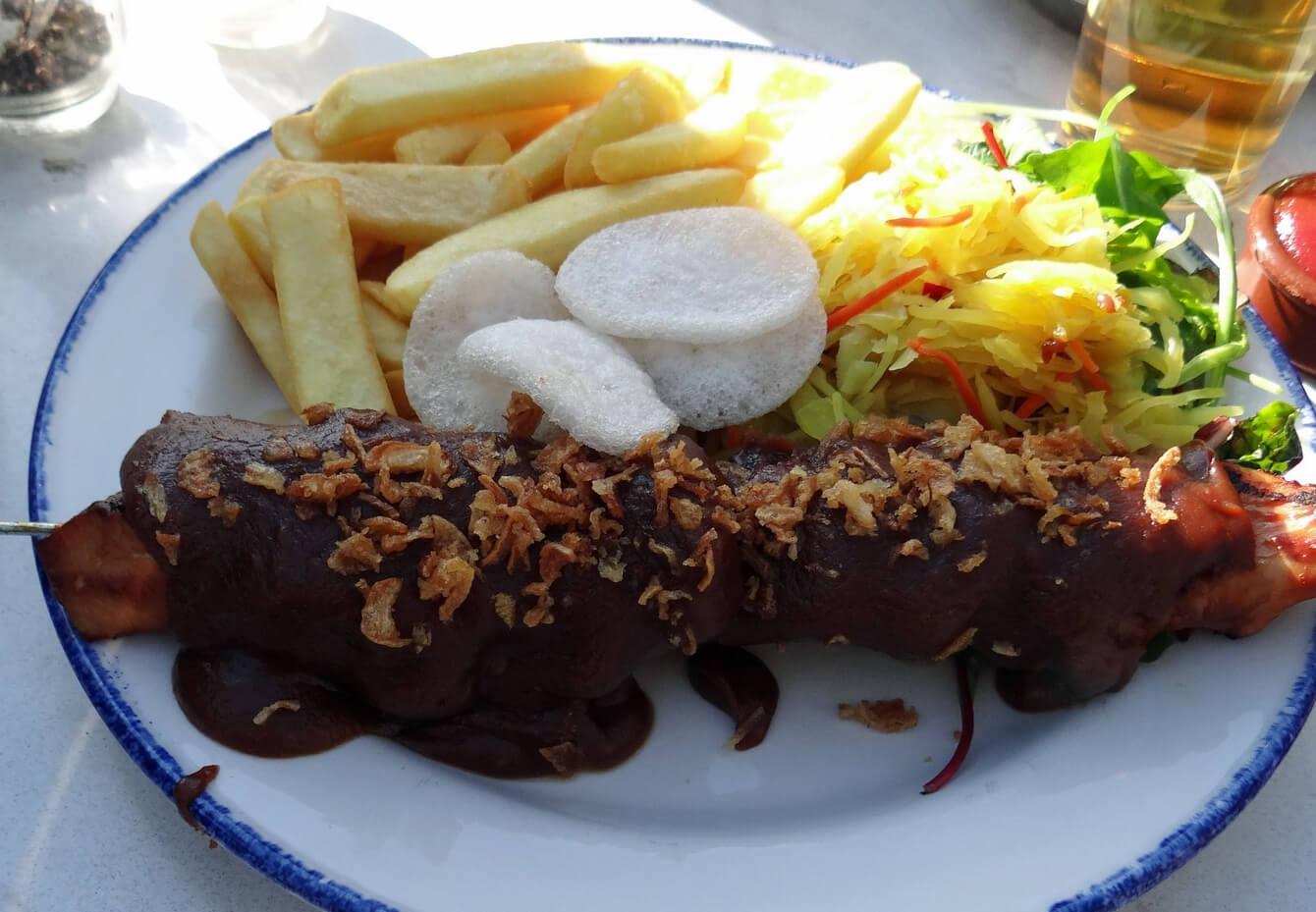 В ресторанчике Van der Werff