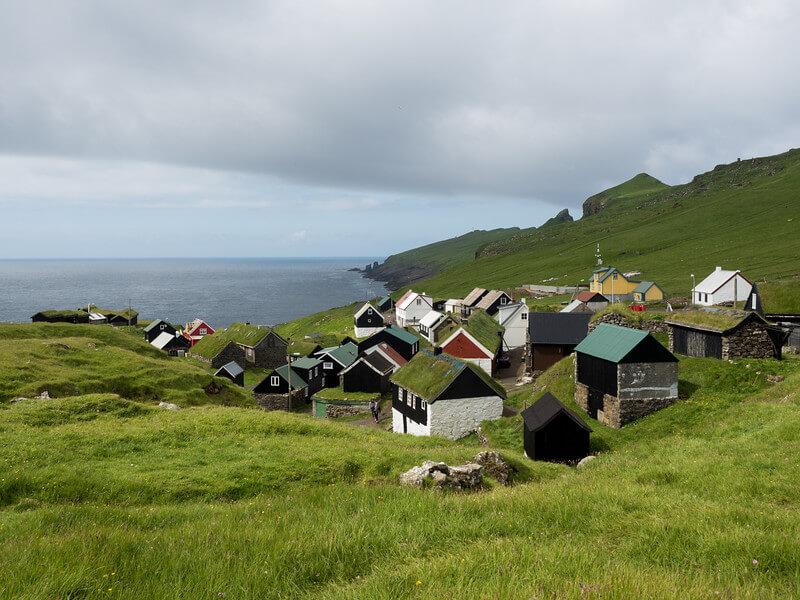 Домики на острове Мичинес