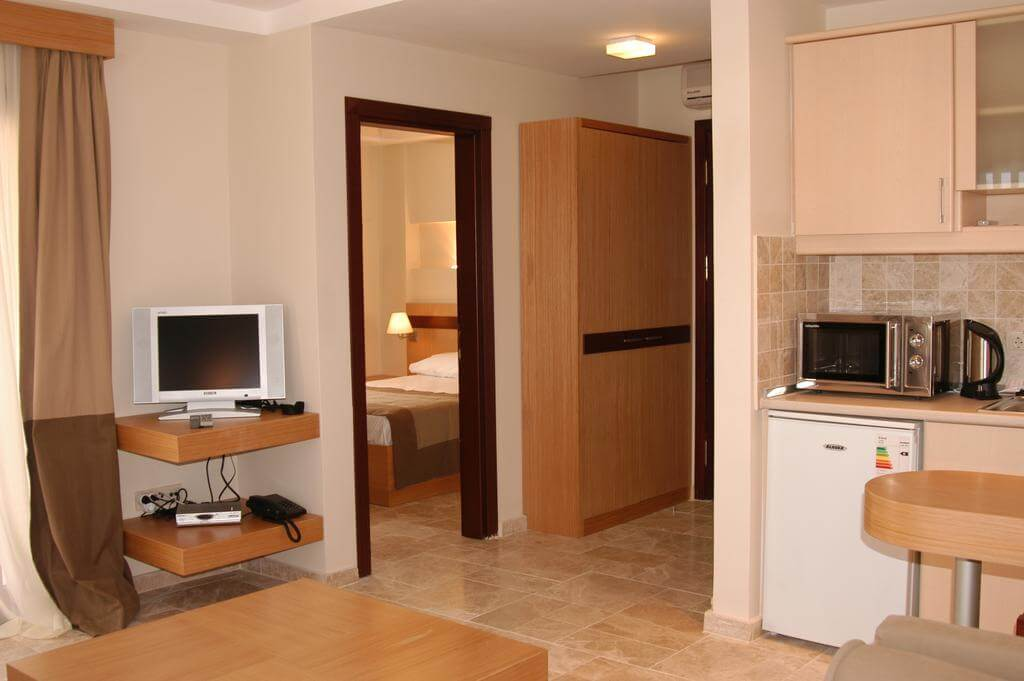 В апартаментах Villanaz Apart Hotel