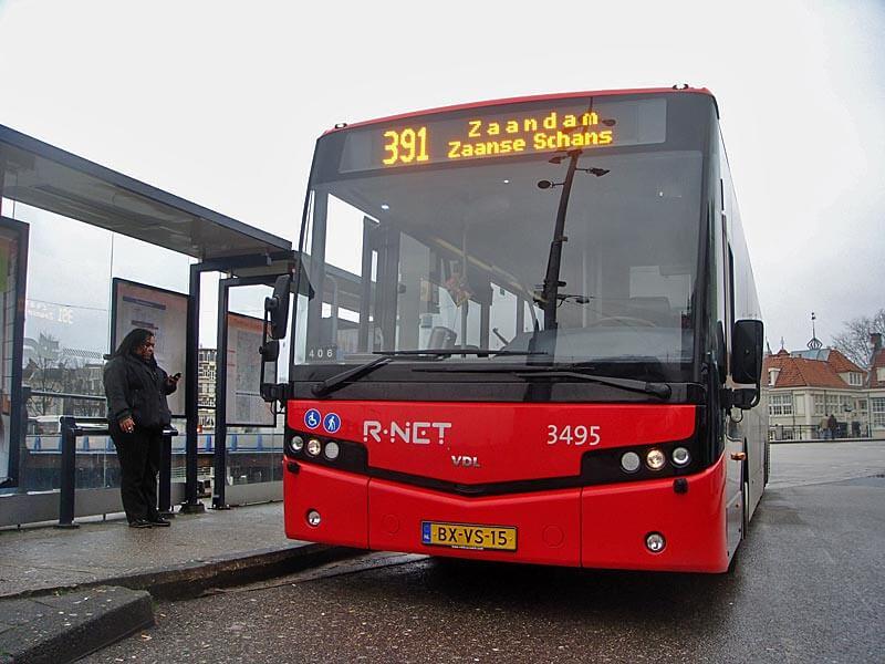 Автобус №391 до Заансе-Сханс