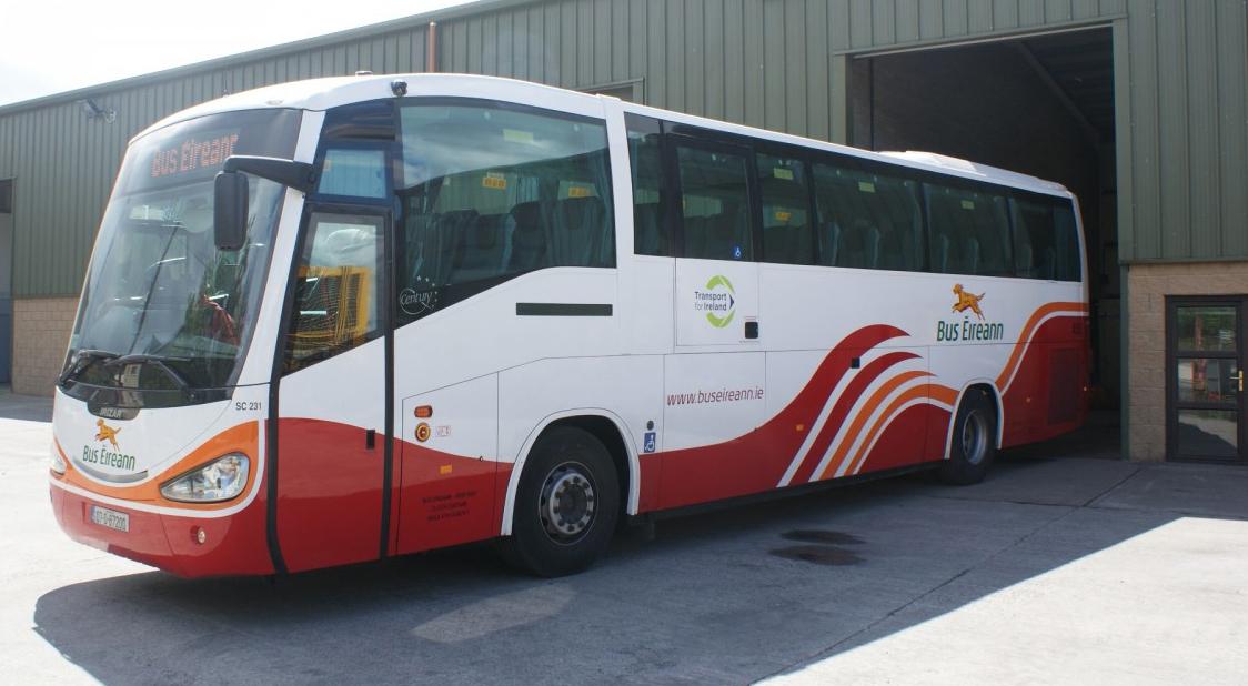Автобус «Bus Eireann»