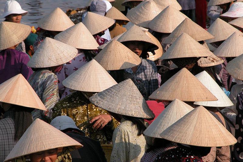 Азиатская шляпа - нон