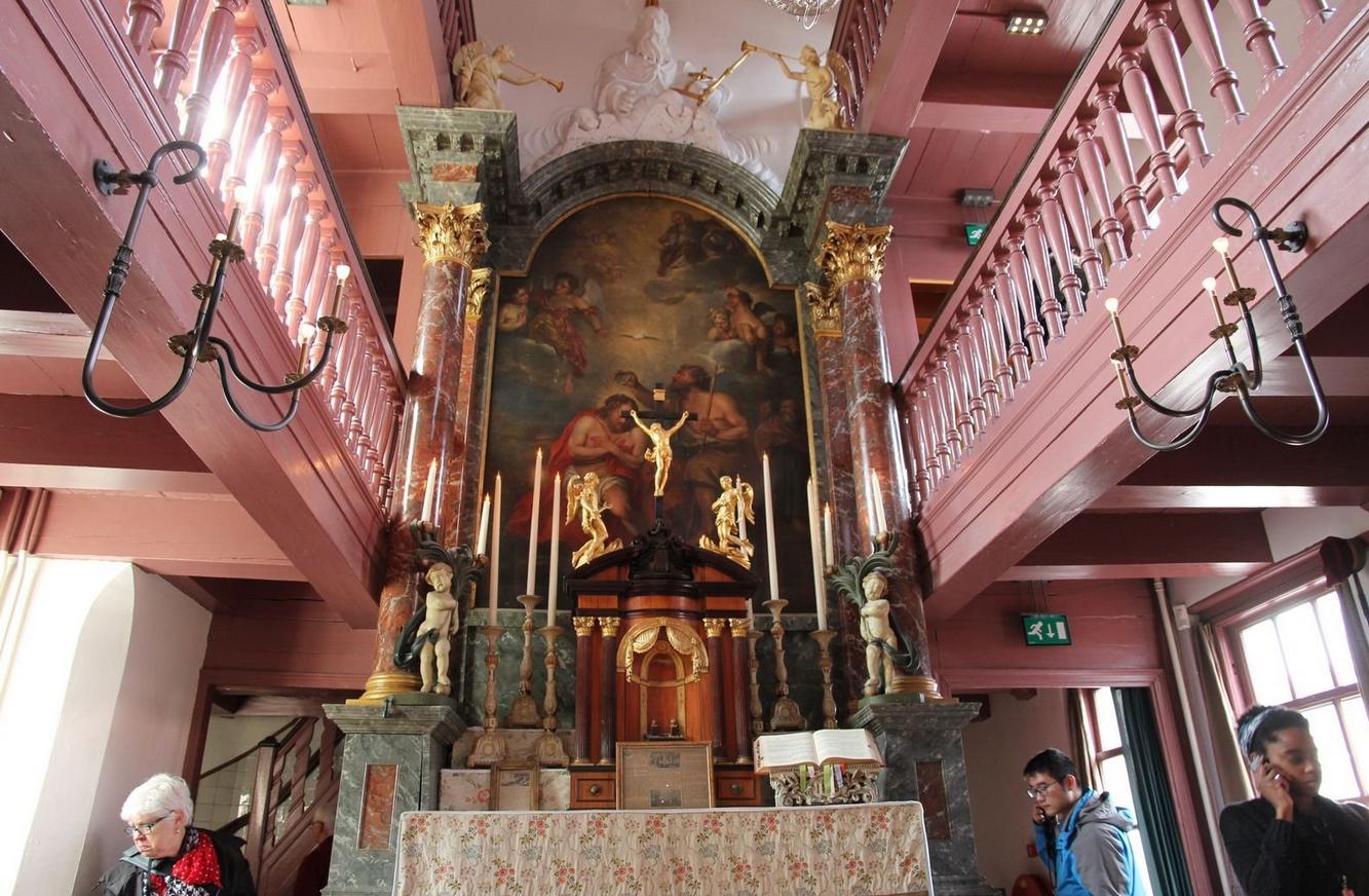 Алтарь церкви возлюбленного Господа нашего на чердаке