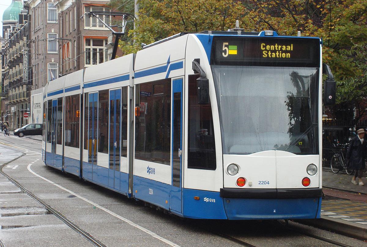 Амстердамский трамвай