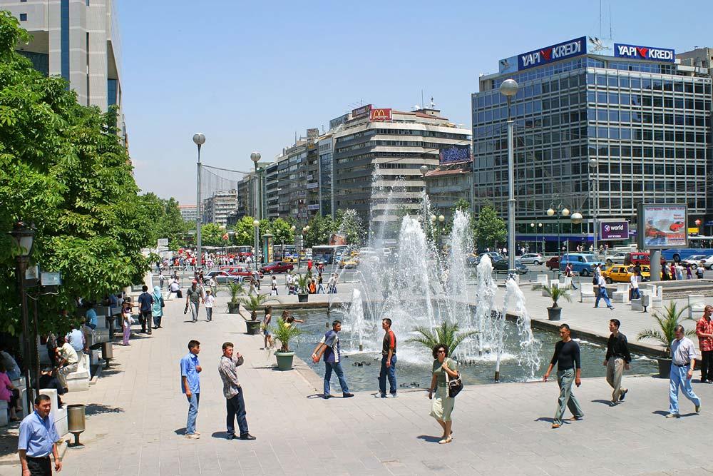 Анкара летом