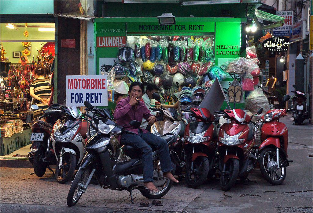 Аренда мотоциклов в Хошимине