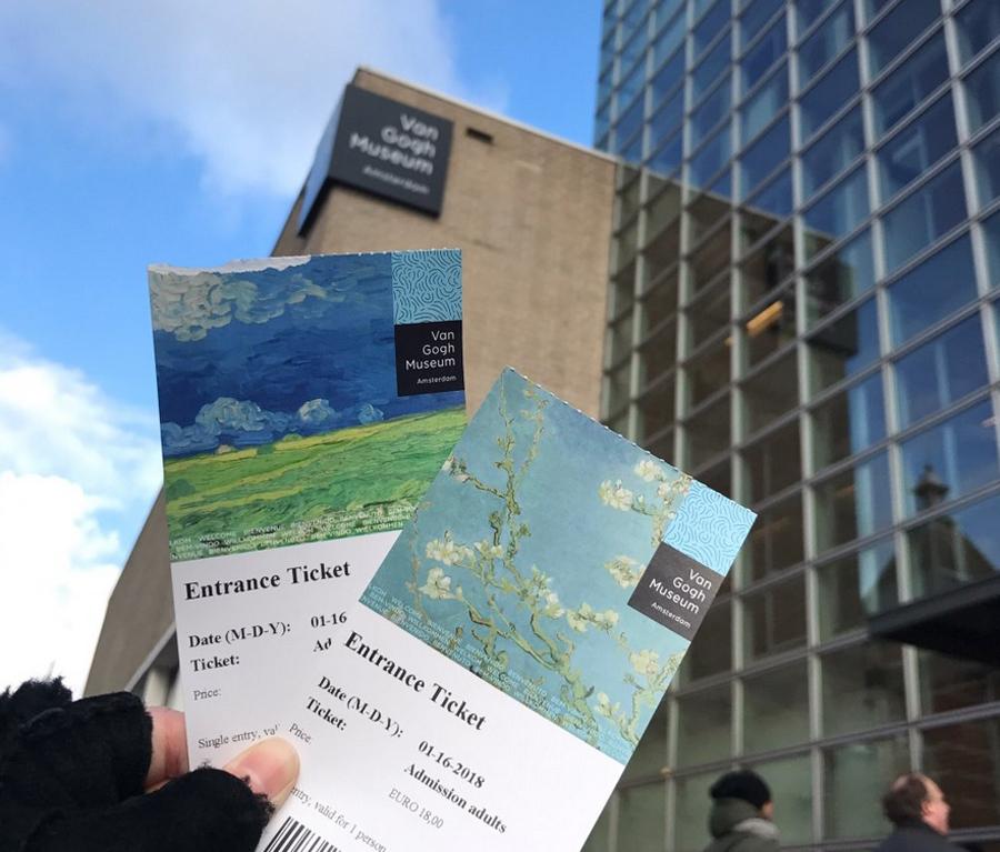 Билеты в музей Ван Гога