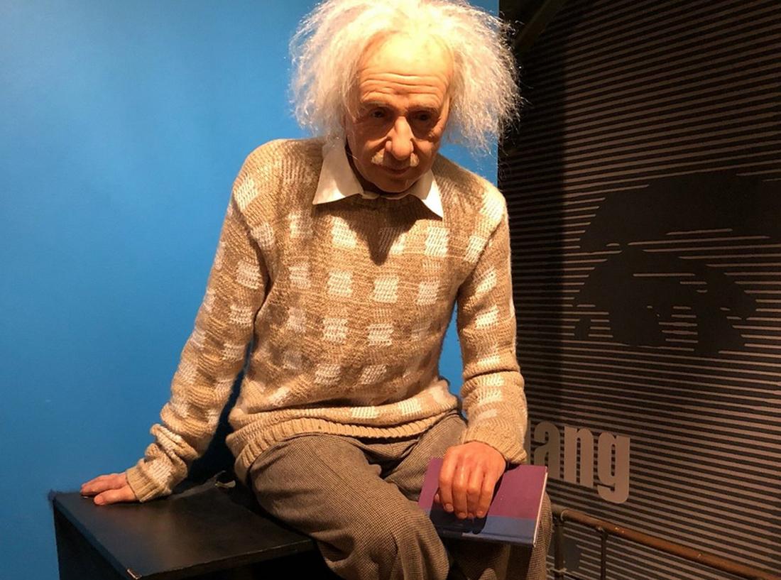 Восковая фигура Альберта Эйнштейна