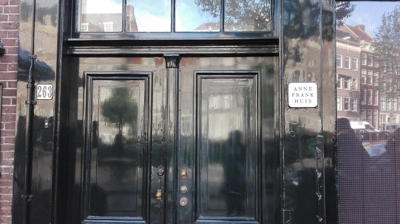 Вход в дом Анны Франк