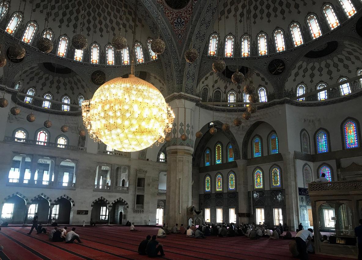 В Мечете Коджатепе