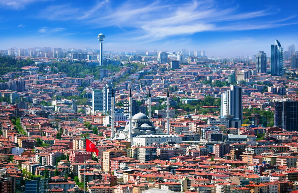 картинка фотография курорта Анкара в Турции