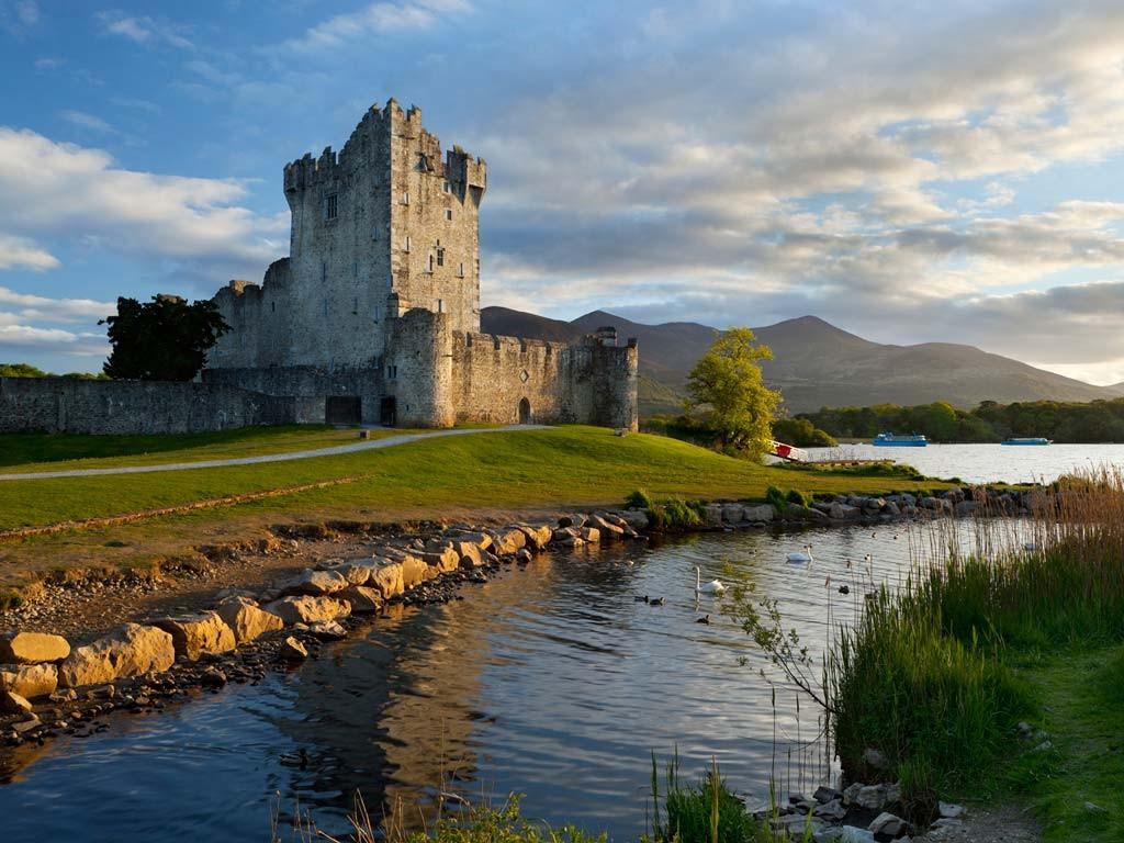 Замок Росс, Ирландия