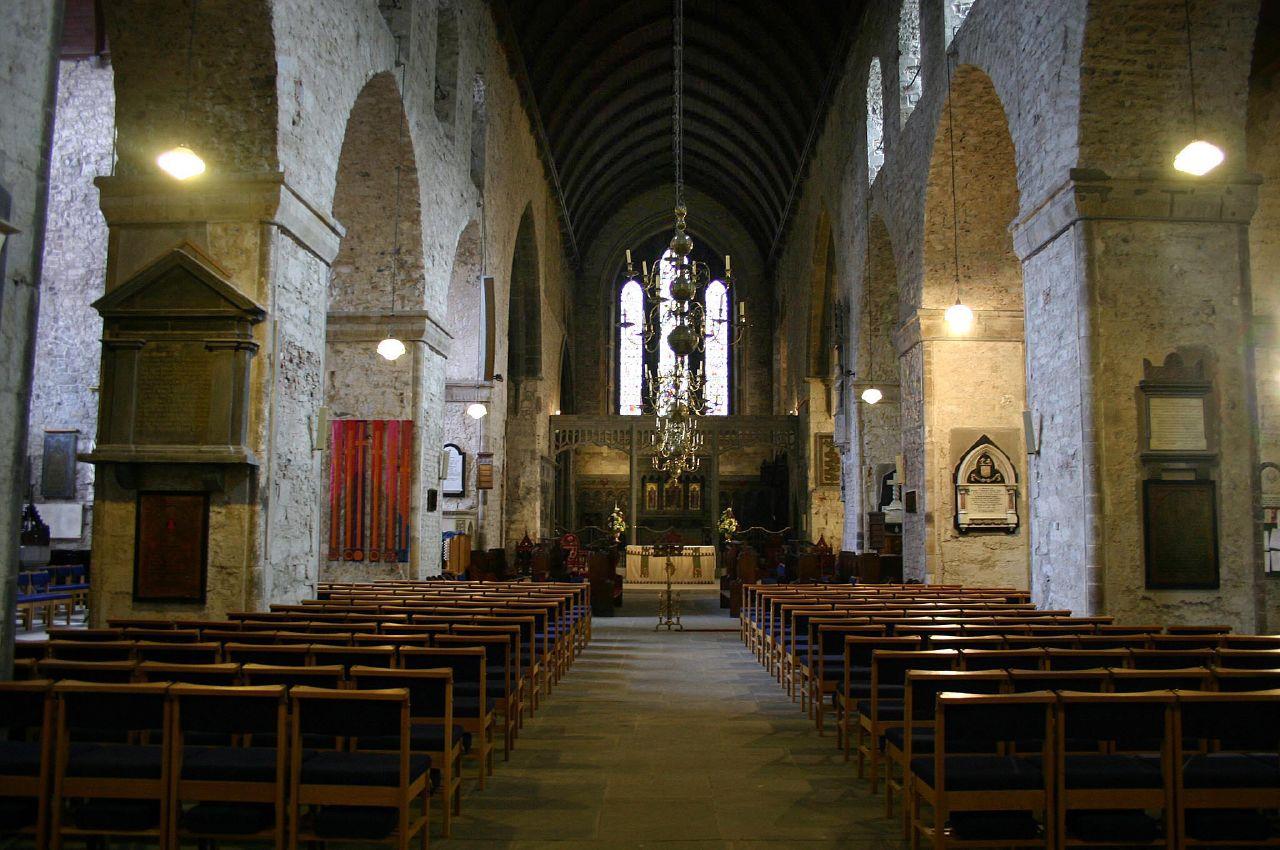 Интерьер собора Сейнт Мэри