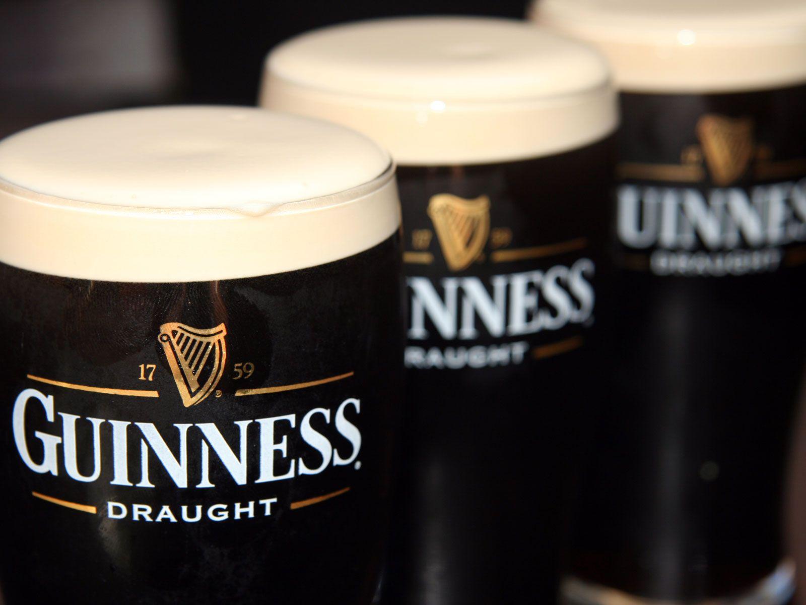 Ирландское пиво Guinness