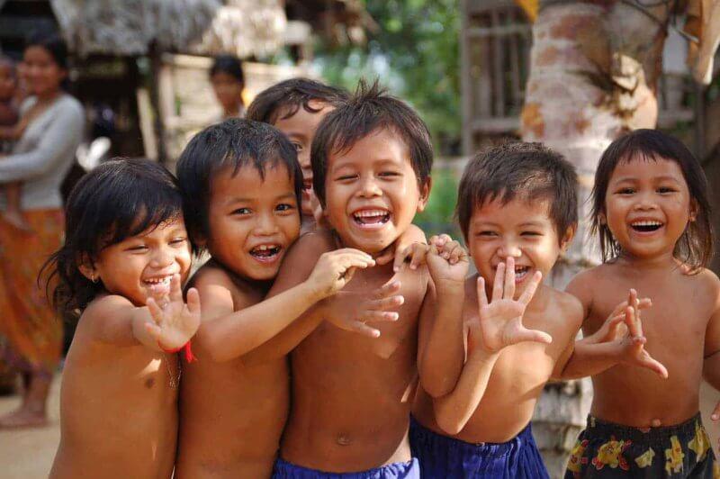 Фото: камбоджийские дети