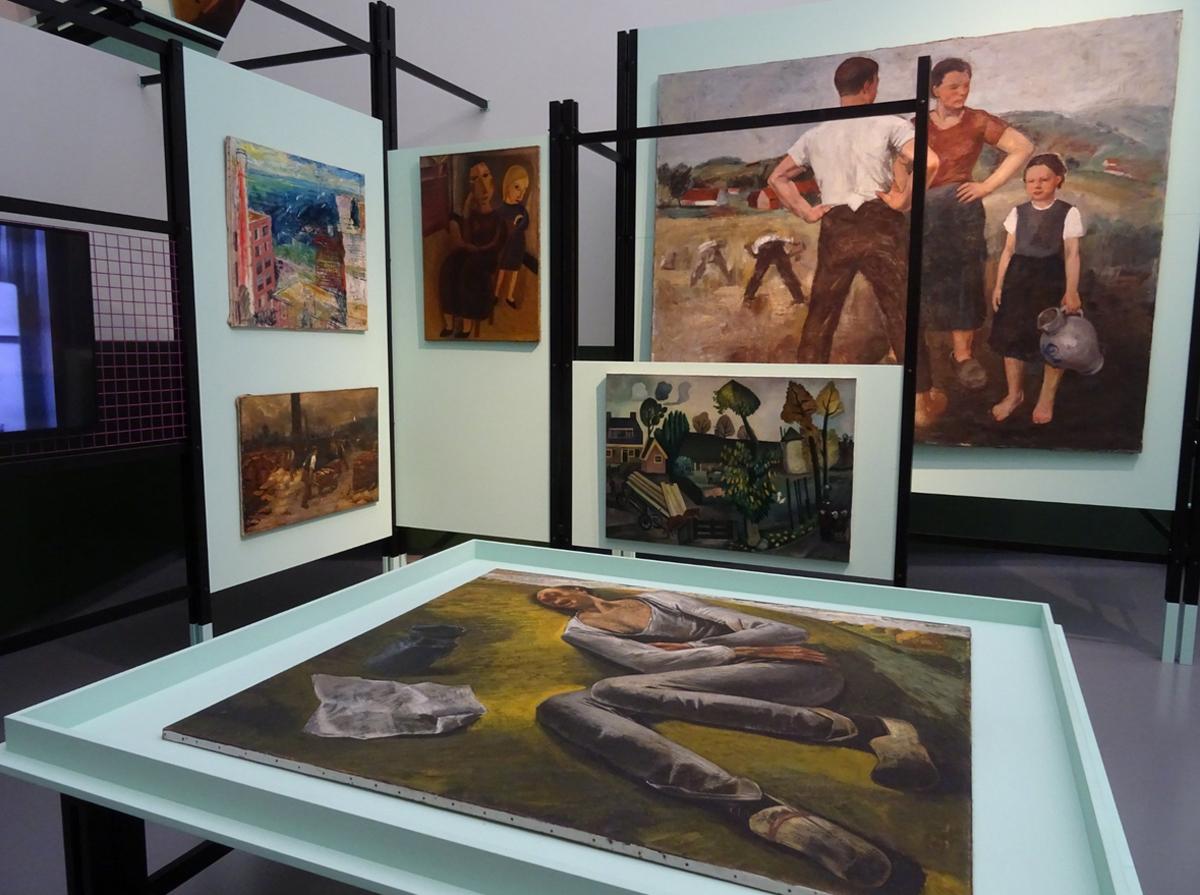 Картины в музее «Ван Аббе»