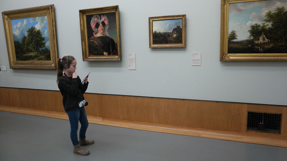 Картины в музее Бойманса Ван Бёнингена