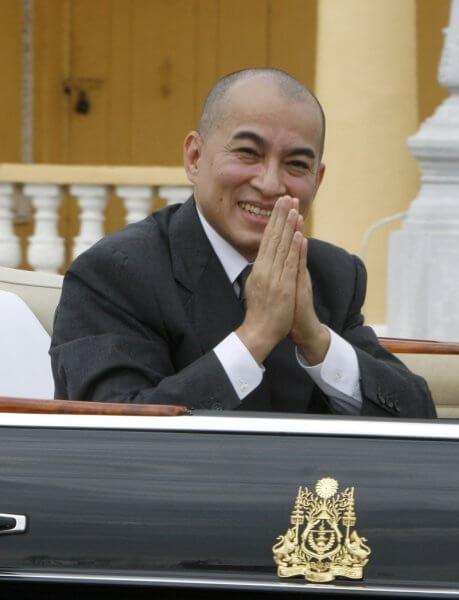 Фото: король Камбоджи