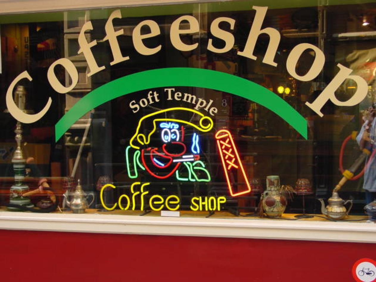 Кофешоп, Амстердам