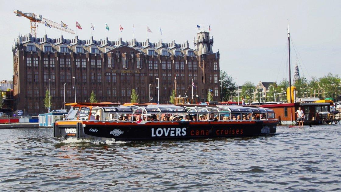 Круиз по водным каналам Амстердама