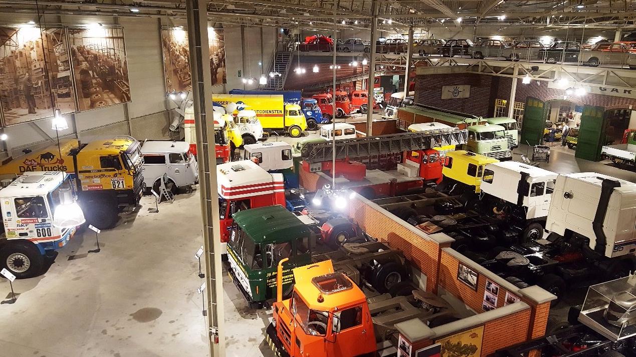 Машины в музее DAF