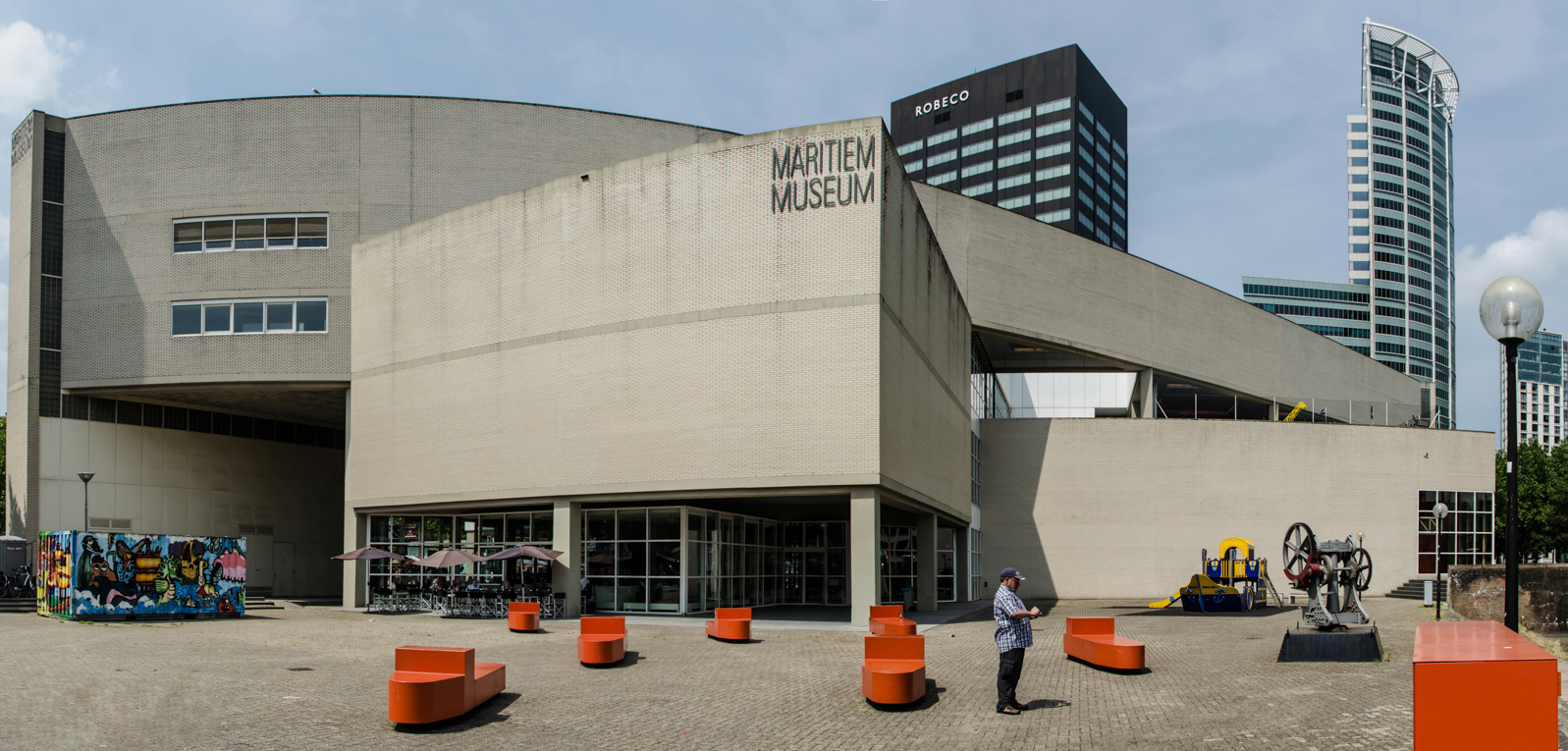 Морской музей в Роттердаме