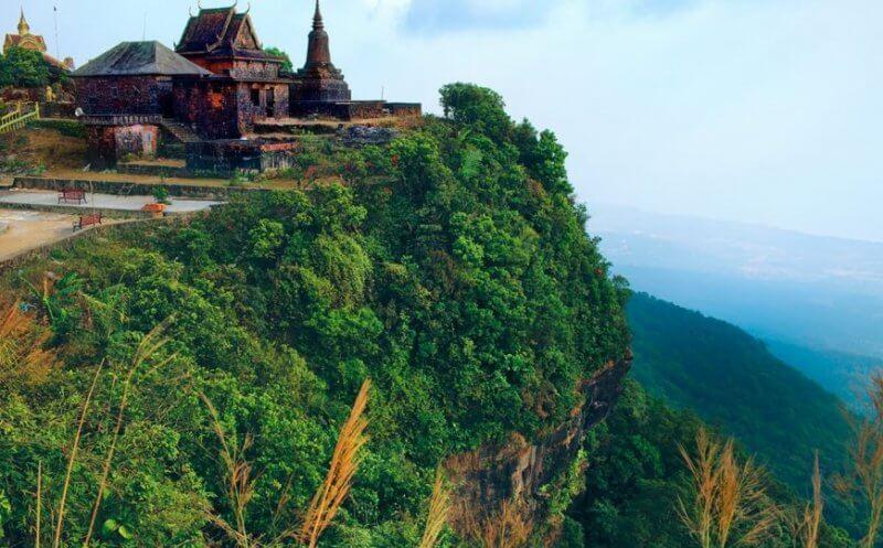 Пейзаж Национального парка Бокор