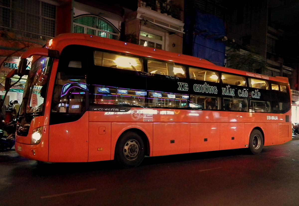 Ночной автобус из города Хошимин