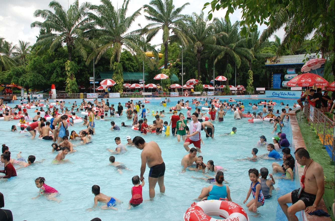 Самый известный парк развлечений Дам Сен