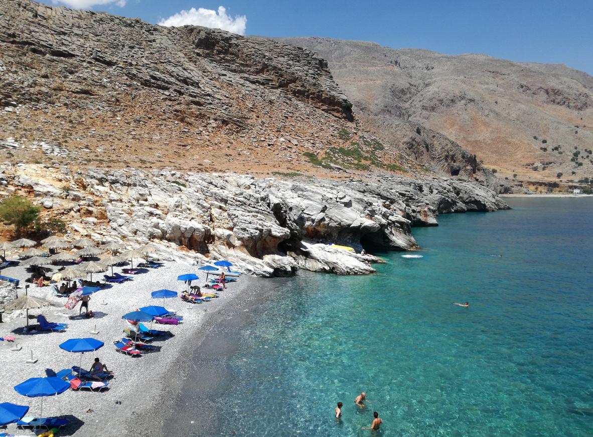 Пляж Мармара, Крит