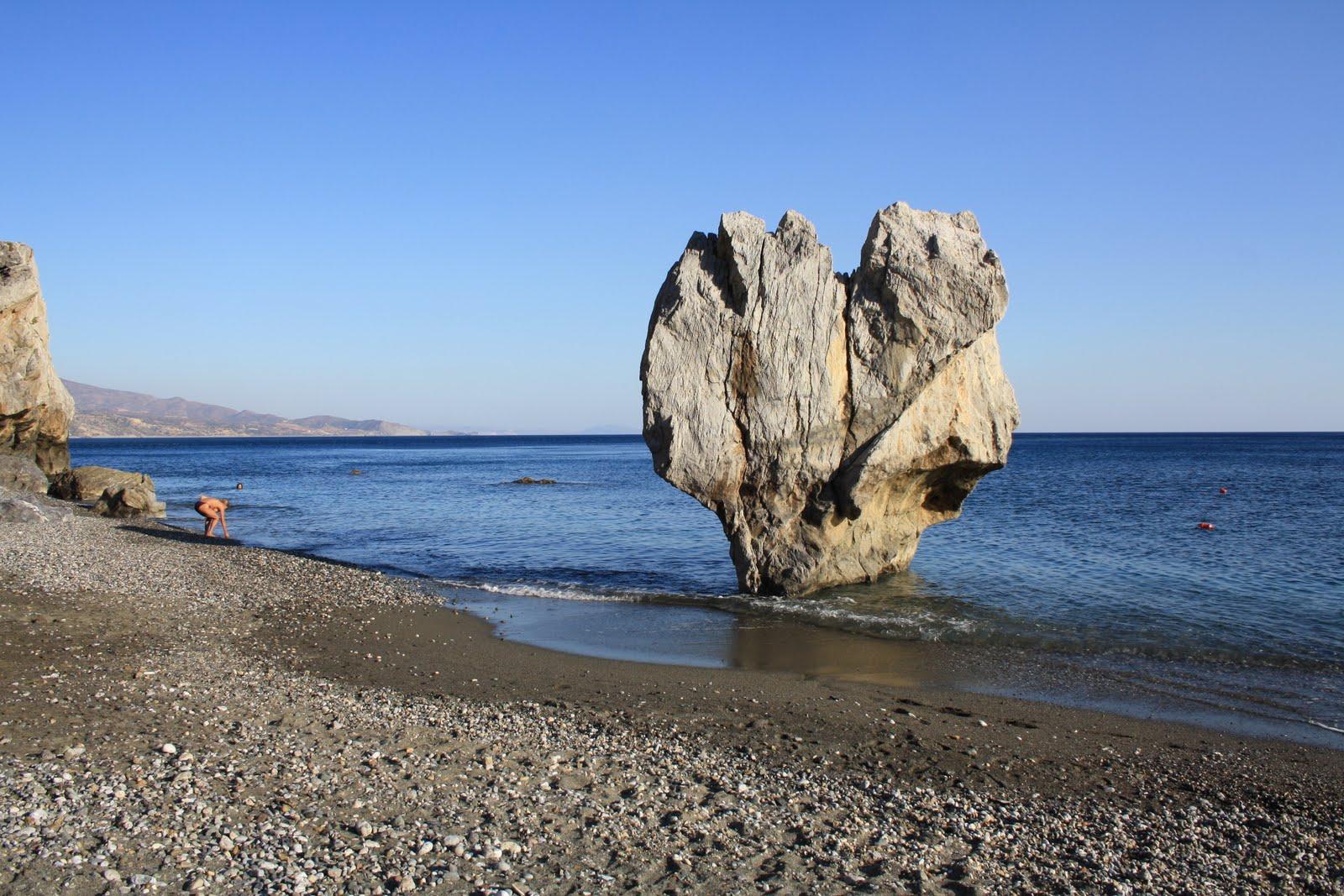 Пляж в Ливийском море