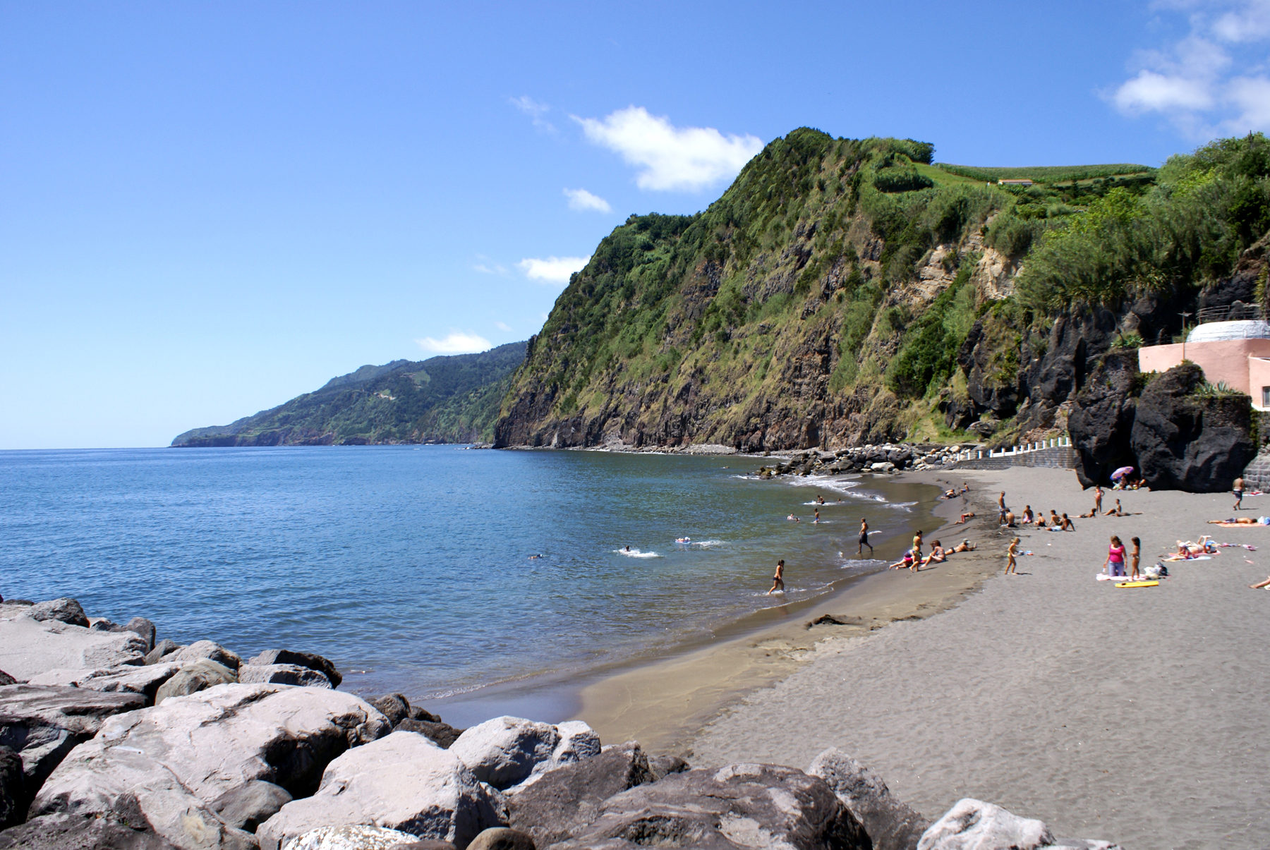 Пляж на острове Сан-Мигель
