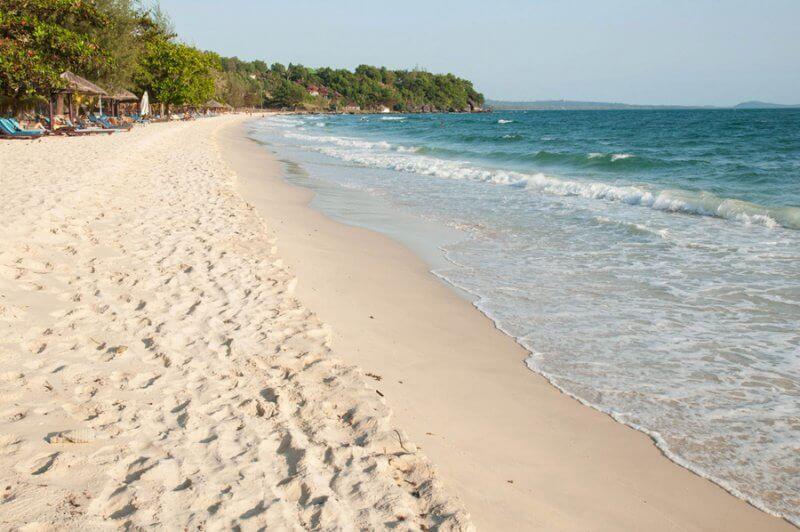 Фото: пляж Сиануквиля