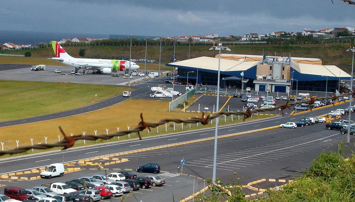 Аэропорт Понта-Делгада на острове Сан-Мигель