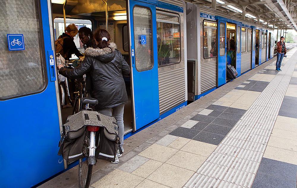 Перевозка велосипеда в общественном транспорте