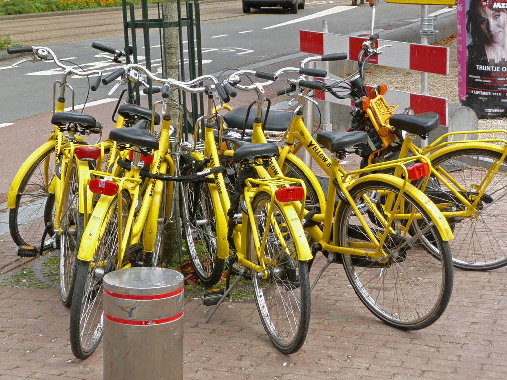 Прокат велосипедов Yellow Bike