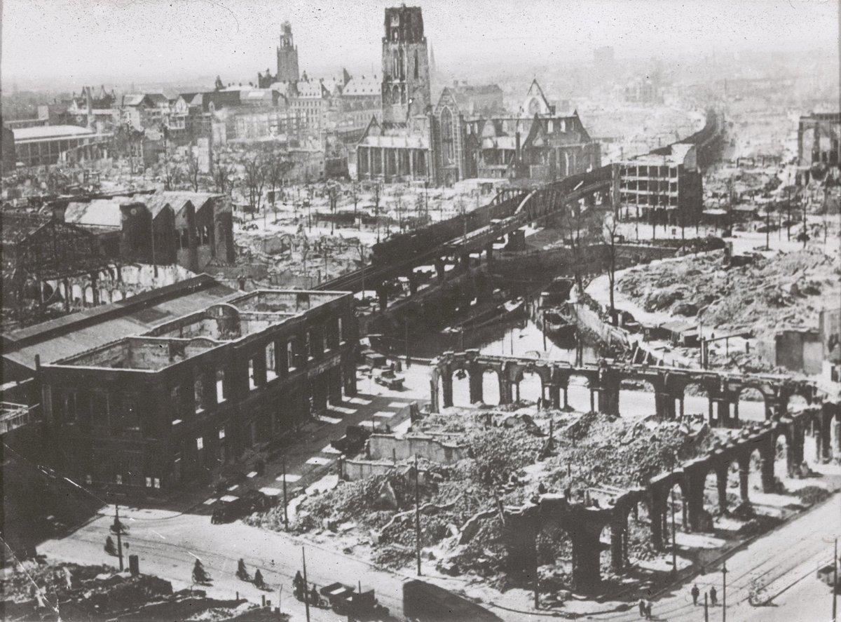 Роттердам во время Второй мировой войны