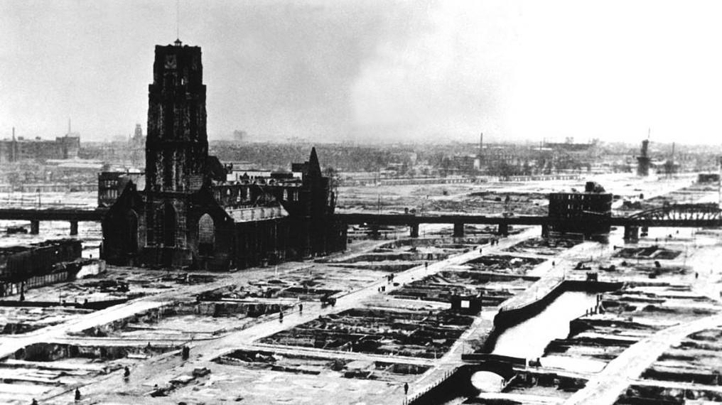 Роттердам после Второй мировой войны