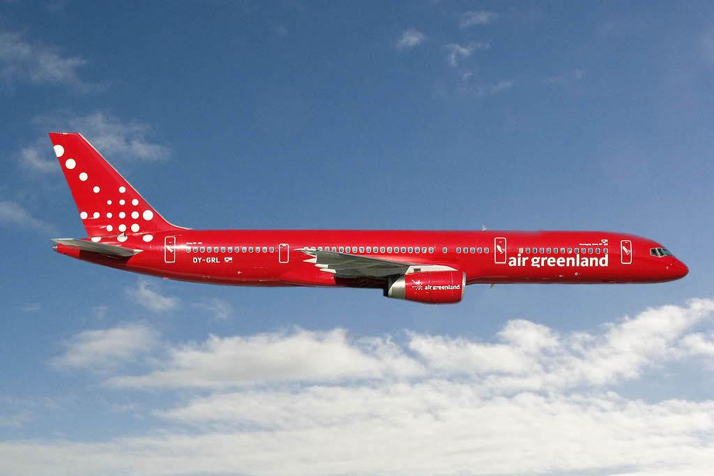 Самолет в Гренландию