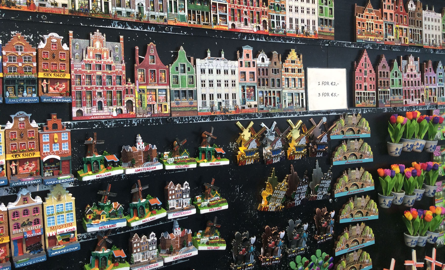 Сувенирные магниты из Амстердама