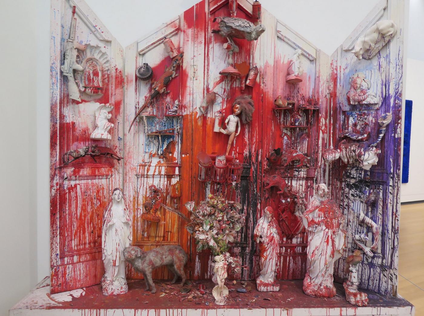 Экспозиция в музее современного искусства