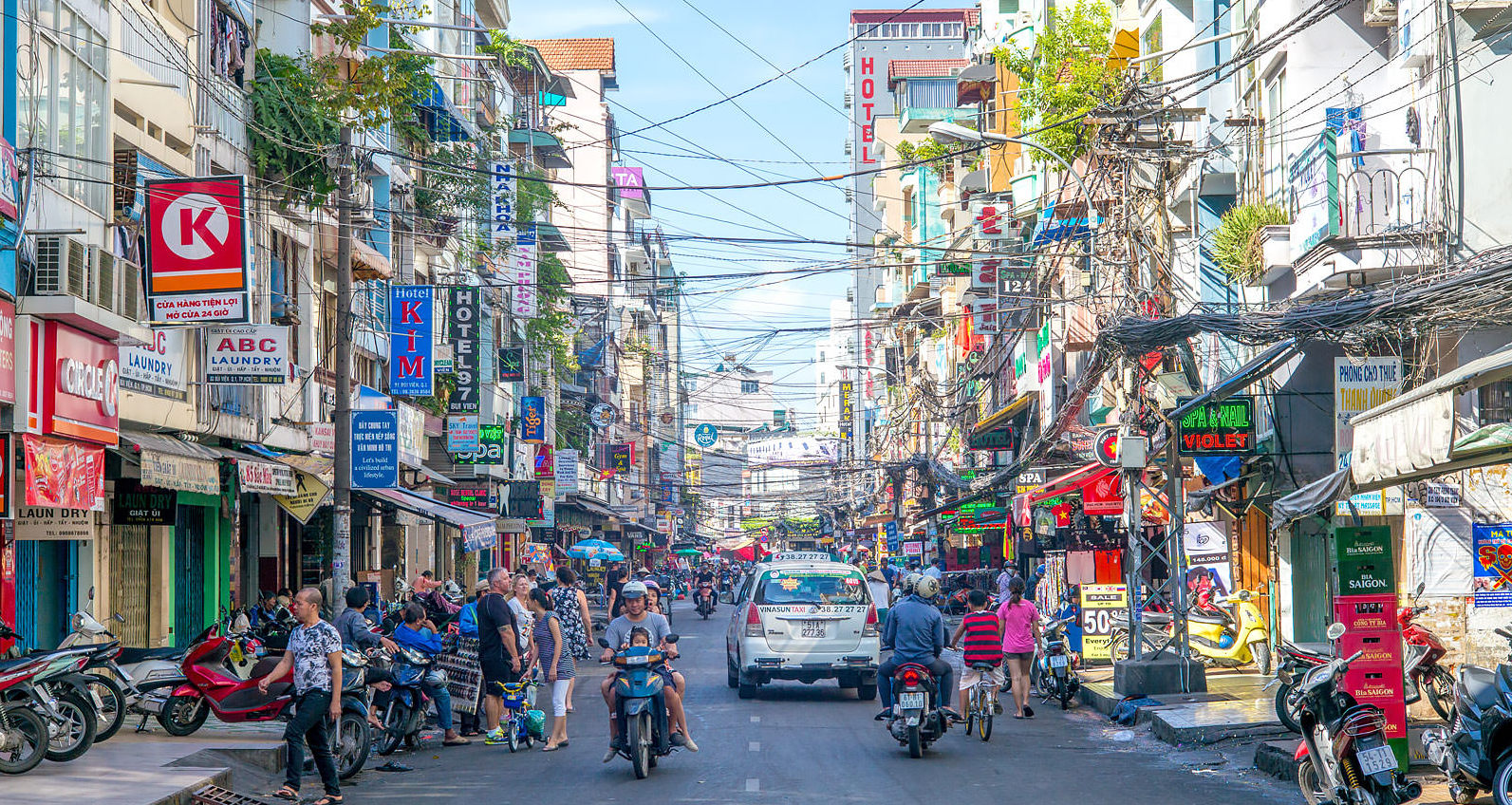 Улица Pham Ngu Lao