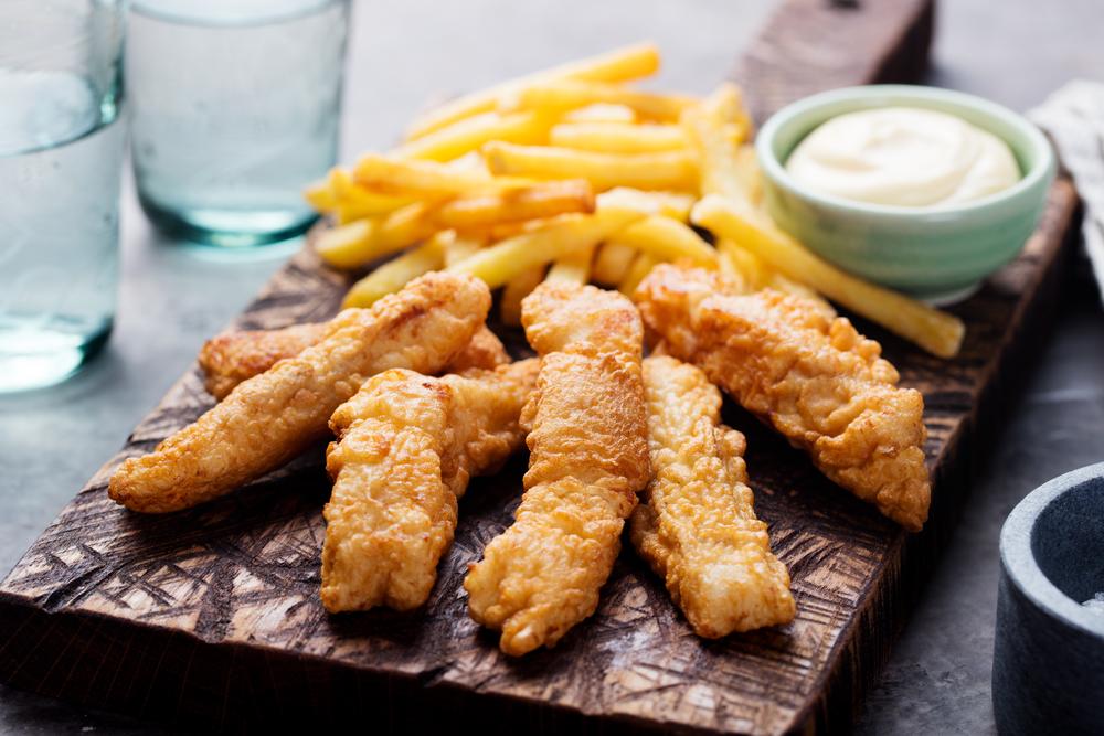 «Фиш энд Чипс» — рыба с картошкой фри