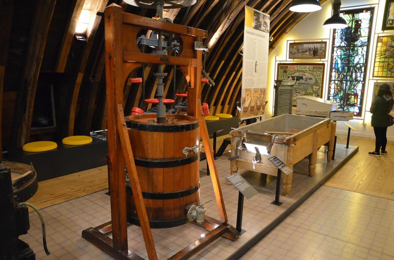 В музее сыра