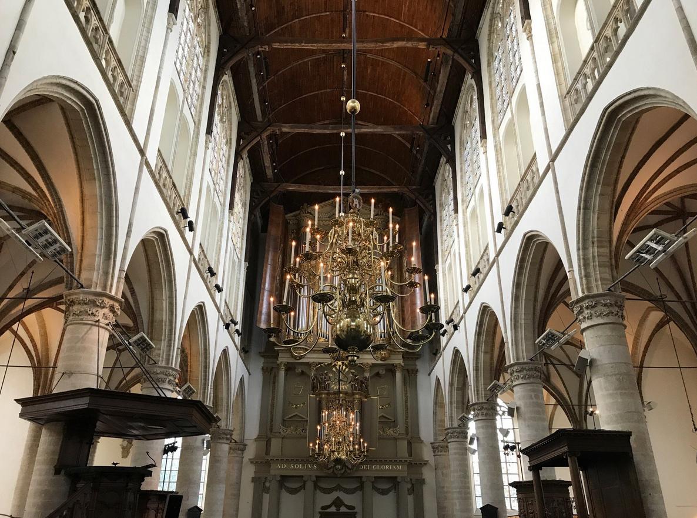 Интерьер собора святого Лаврентия