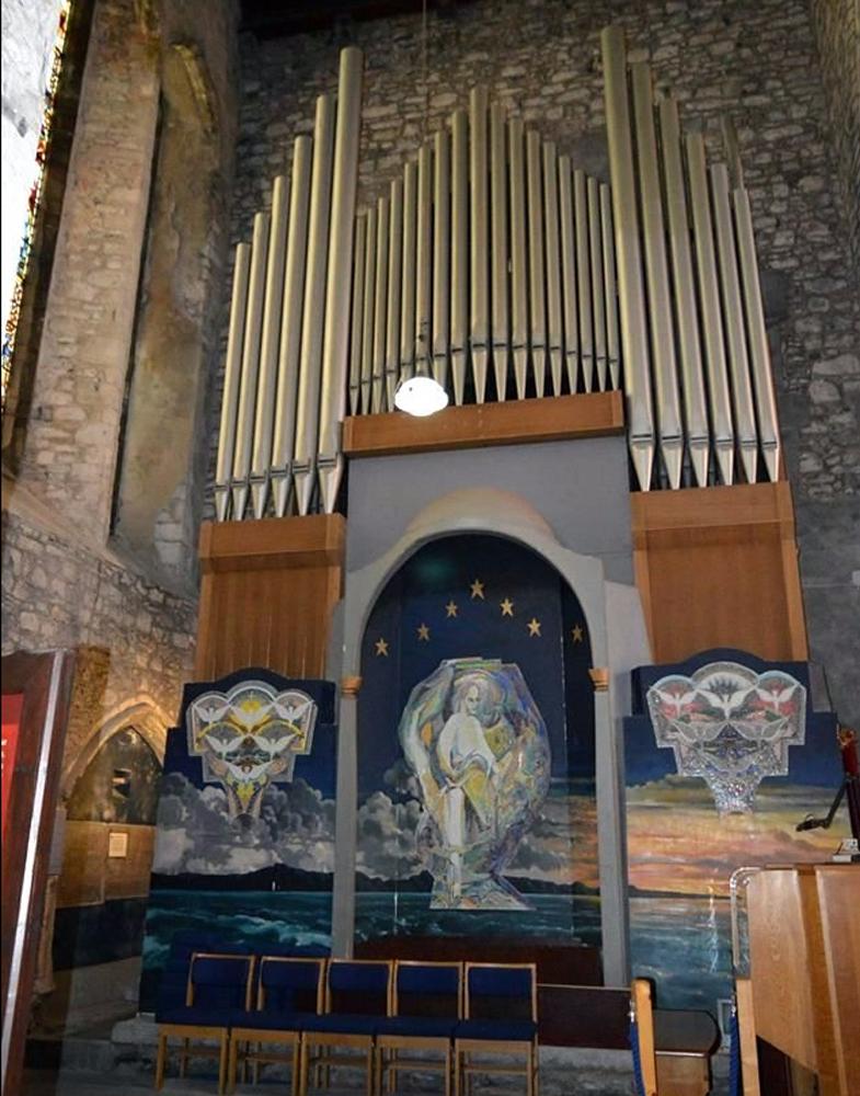 Орган в соборе Сейнт Мэри