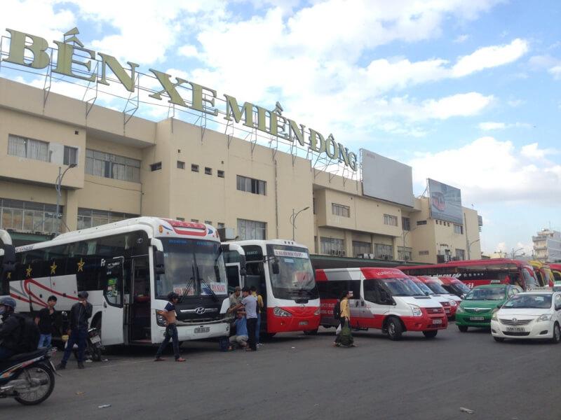Главный городской автовокзал Ben Xe Mien Dong
