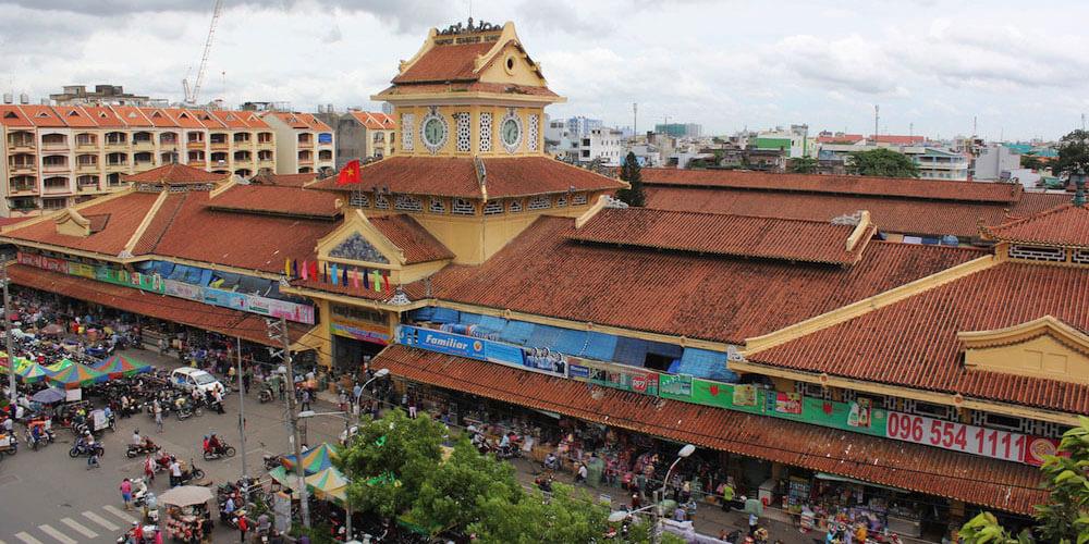 Рынок Binh Tay Market