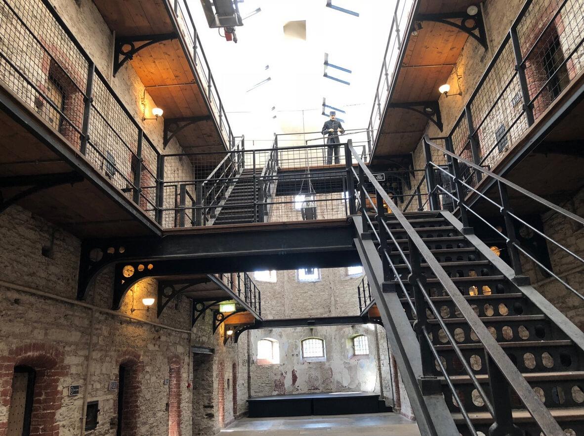 В музее-тюрьме, Корк