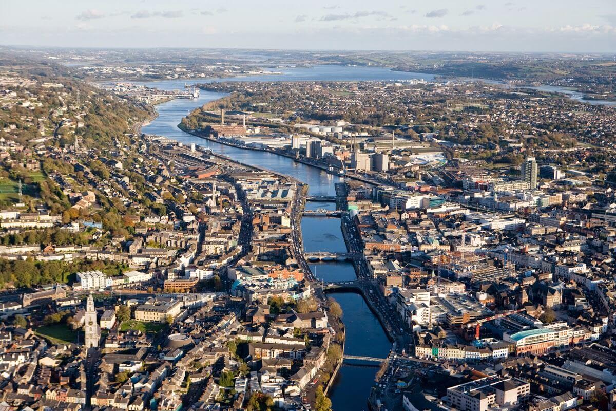 Огромное количество воды в городе Корк